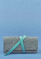 Тревел-кейс 1.0 фетр + кожа Тиффани