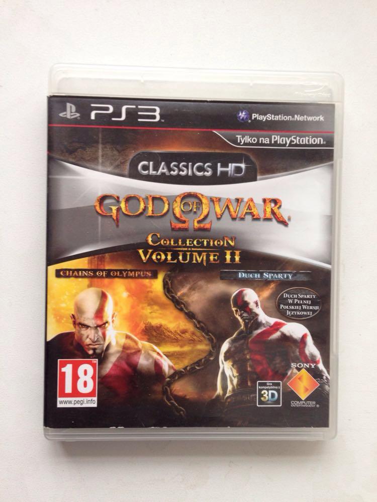Видео игра God of War collection volume 2 (PS3) pyc-2я