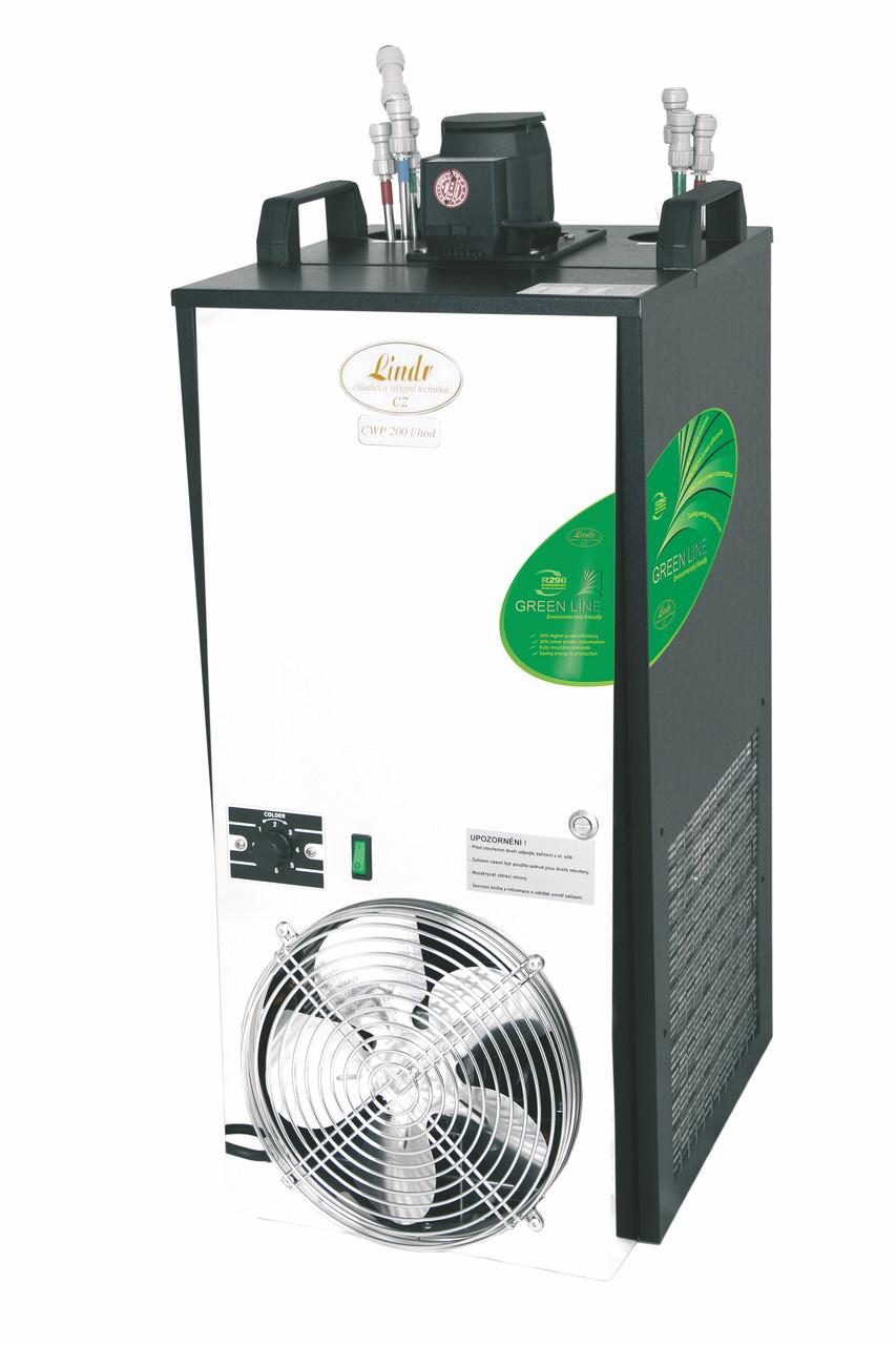 Охладитель пива подстоечный проточный CWP 200 Green Line (200 л/ч) 6 контуров Lindr Чехия