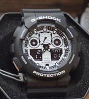 Часы Casio G-Shock GA-100BW-1AER, фото 1
