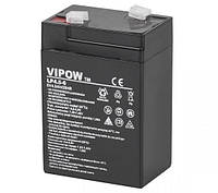 Аккумулятор гелиевый Vipow 6V 4.5Ah (BAT0200)