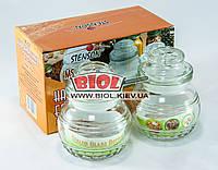 Набор банок (2 шт.) стеклянных 150мл с герметичными крышками Stenson MS-0227