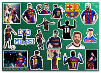 Stickers Pack Lionel Messi, Лионель Месси #92