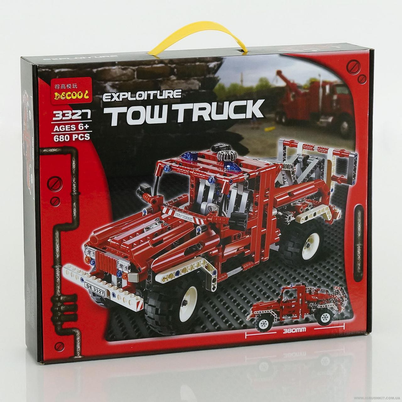 """Конструктор DECOOL 3327 """"TOW Truck"""" 680 деталей"""