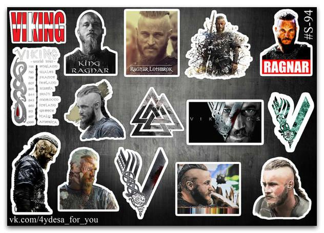 Stickers Pack Vikings, Викинги #94