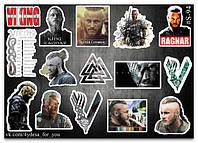Stickers Pack Vikings, Викинги #94, фото 1