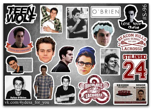 Stickers Pack Teen Wolf, Сериал Волчонок #96