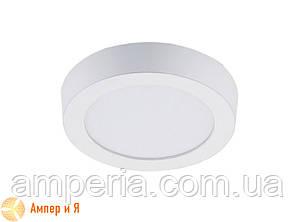 Светильник накладной светодиодный LED-NGS-01R 4500K 6W(вт), круг NIGAS, фото 2