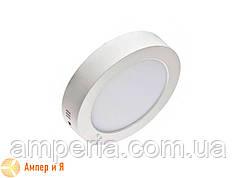 Светильник накладной светодиодный LED-NGS-01R 4500K 6W(вт), круг NIGAS