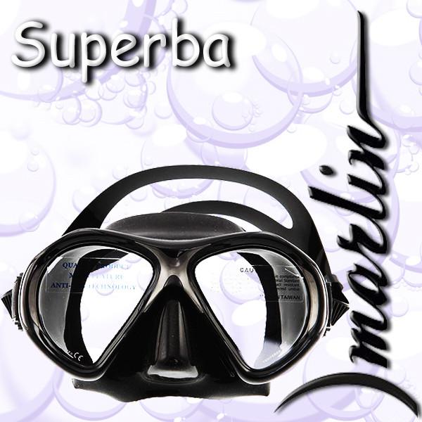 Маска Marlin SUPERBA black