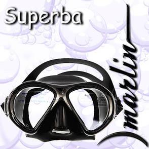 Маска Marlin SUPERBA black, фото 2