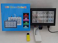 Стробоскоп диско лазер LASER MP3 Room Strobe 12L