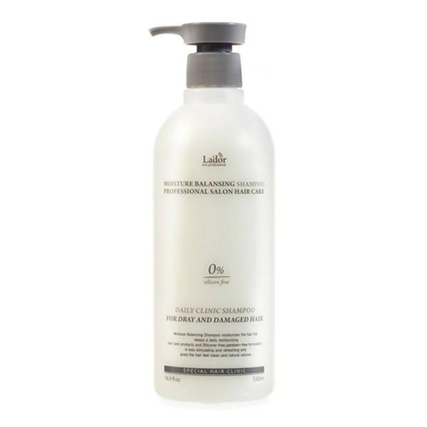 Увлажняющий шампунь для волос Moisture Balansing Shampoo Lador - 530 мл