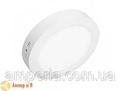 Светильник накладной светодиодный LED-NGS-01R 4500K 12W(вт), круг NIGAS
