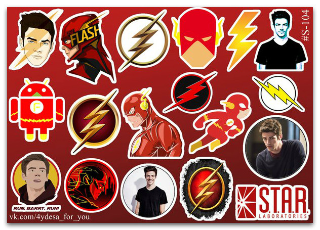 Stickers Pack Flash, Флеш #104