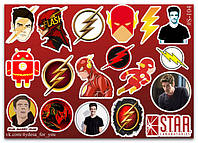 Stickers Pack Flash, Флеш #104, фото 1