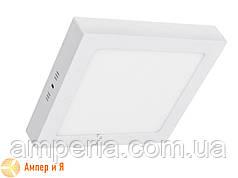 Светильник накладной светодиодный LED-NGS-02S 4500K 18W(вт), квадрат NIGAS