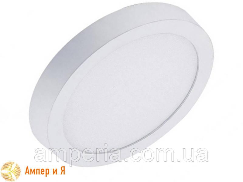 Светильник накладной светодиодный LED-NGS-01R 4500K 24W(вт), круг NIGAS