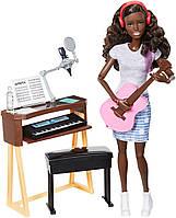 Кукла Барби афроамериканка рок-музыкант с гитарой и пианино Barbie Music Musician, фото 1