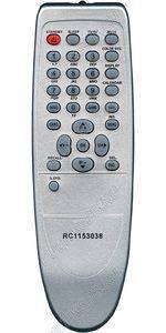 Пульт ДУ RC-1153012 RC-1153038 для Akai , Saturn, TCL, Elenberg, фото 2