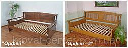 """Деревянная полуторная кровать """"Орфей"""" от производителя, фото 2"""