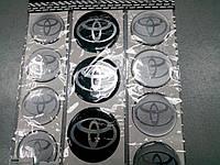 Силиконовые наклейки на диски и колпаки TOYOTA