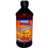 Жиросжигатель NOW CARNITINE LIQUID (473 ml)