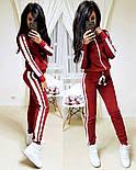 Женский стильный спортивный костюм на молнии: мастерка и штаны (6 цветов), фото 5