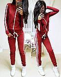 Женский стильный спортивный костюм на молнии: мастерка и штаны (6 цветов), фото 6