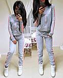 Женский стильный спортивный костюм на молнии: мастерка и штаны (6 цветов), фото 9