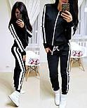 Женский стильный спортивный костюм на молнии: мастерка и штаны (6 цветов), фото 10