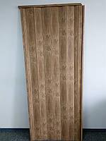 Дверь гармошка межкомнатная глухая, вяз 805,  810*2030*6мм