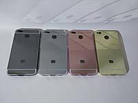 Алюминиевый чехол бампер для Xiaomi Redmi 4x (зеркальный)