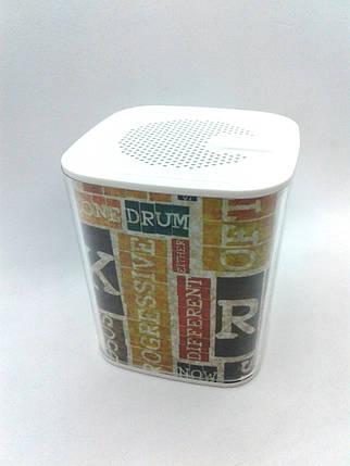 Портативная колонка Rock N' Roll (Bluetooth, качественный звук) white, фото 2