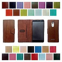 Чехол для Alcatel One Touch Idol 4S 6070K (чехол - книжка под модель телефона, крепление: клейкая основа)
