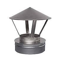 Зонт вентиляционный 140/200 двустенный Н/ОЦ