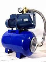 Насосная станция для воды JET100D бак стальной 24л