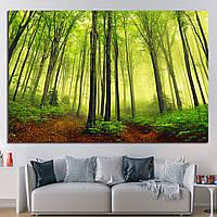 Картина - летний лес