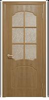 Межкомнатные двери Ваш Стиль Крона ПO светлый орех