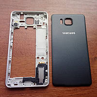 Корпус для Samsung G850F Galaxy Alpha чёрный (biack)