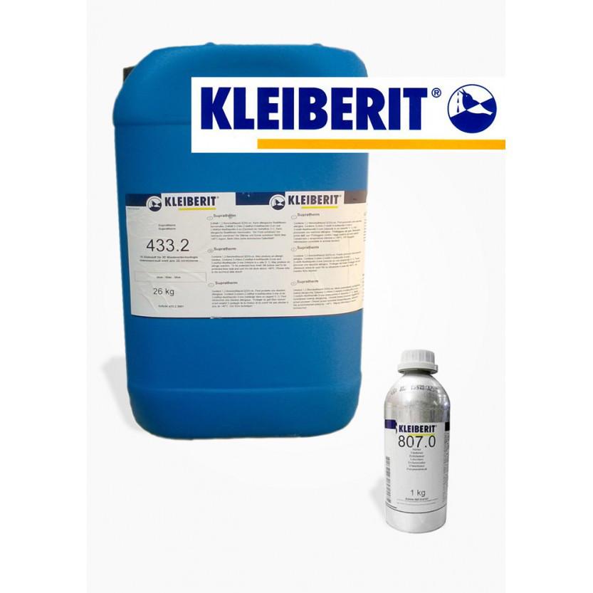 КЛЕЙ Супратерм 433.2 (26кг) для вакуумного 3D прессования,для облицовки ПВХ-пленками Клейберит (Kleiberit)