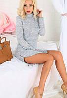 Ангоровое платье гольфик Yanina    (код 102) , фото 1
