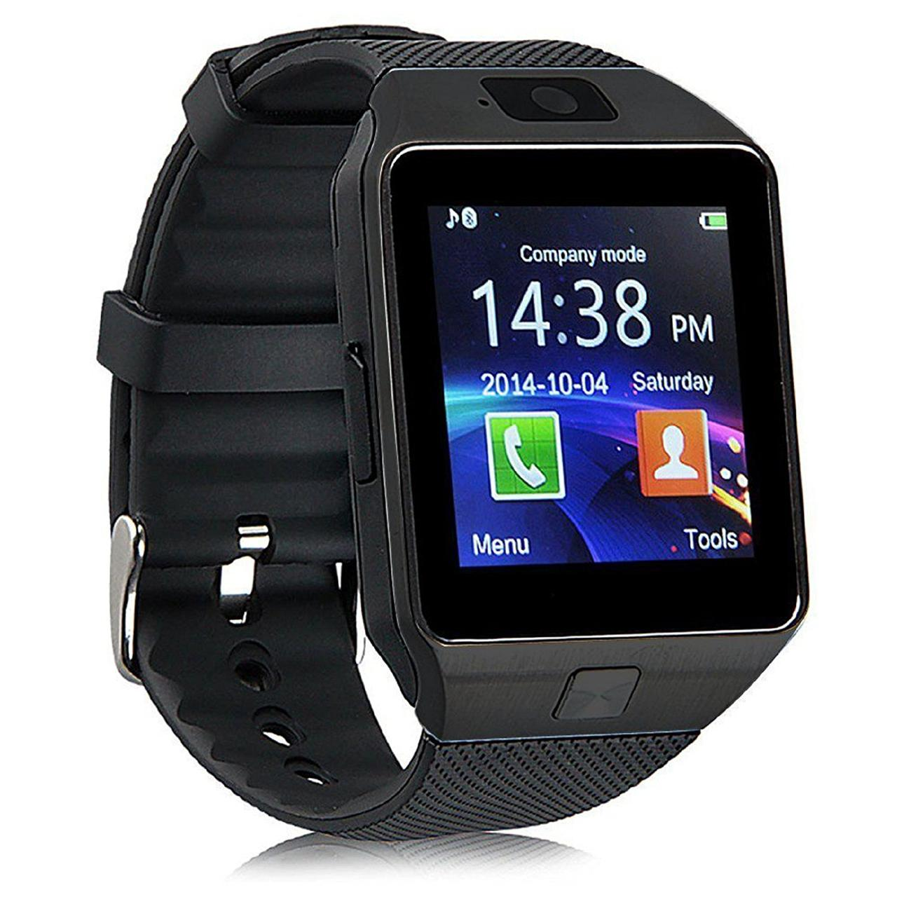 Умные часы Bluetooth Smart Watch DZ09 - Black