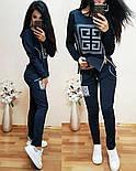 """Женский модный спортивный костюм двухнитка """"Givenchy"""" (расцветки), фото 4"""