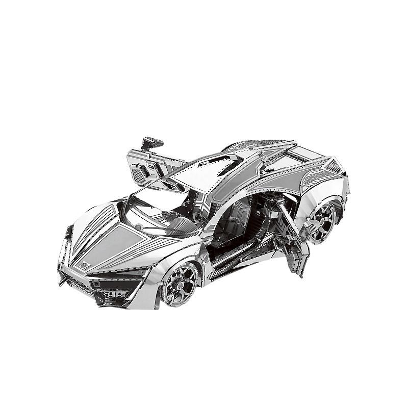 Металлические сборные модели автомобилей