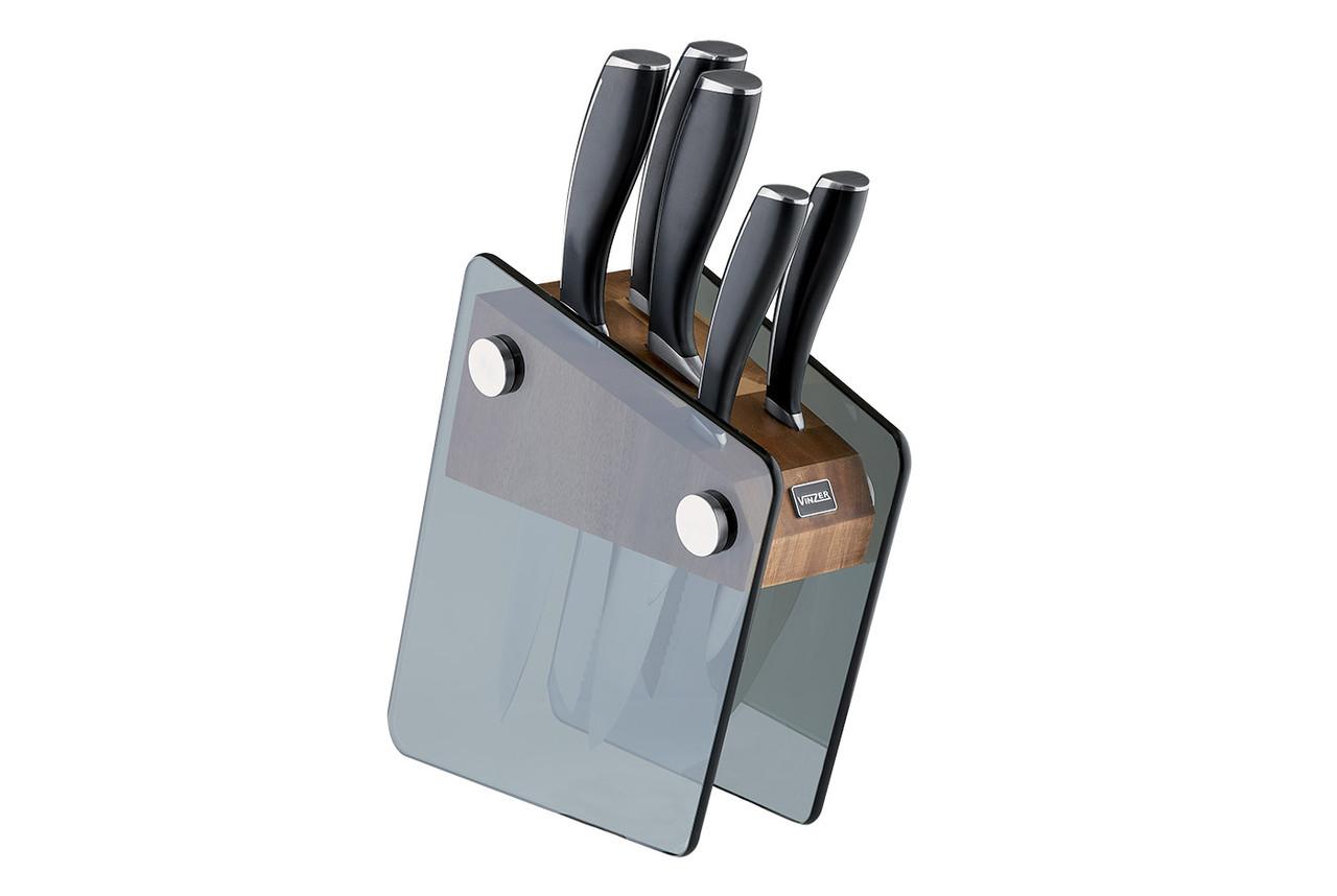 Набор ножей Vinzer Crystal 89113 (6 предметов)