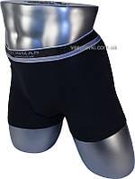 Мужские трусы боксеры Tonmas 9062 черный/серый/синий
