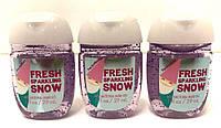 Санитайзер bbw антибактериальный гель для рук bath & body works FRESH SPARKLING SNOW