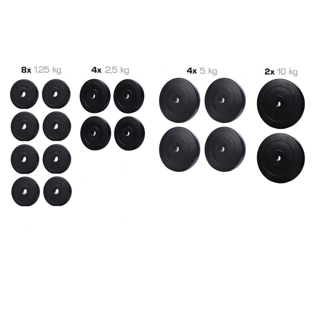Набір ELITUM з композитних дисків А - 60кг