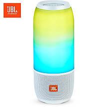 Колонка портативная беспроводная JBL Pulse 3, влагозащитная Bluetooth акустика, ЖБЛ пульс 3 с светомузыкой, фото 3